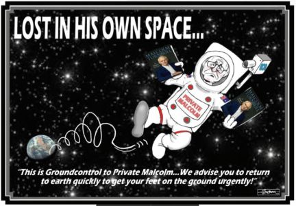 Ground Control To Private Malcolm