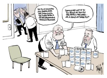 Toilet Roll Stimulus