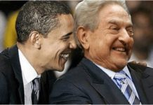Barack Obama with George Soros