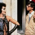 Rocky Horror Frankenfurter with Brad and Janet