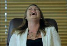 Sarah Hanson Young Laughing