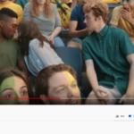 KFC Advert black guy kissing white girl