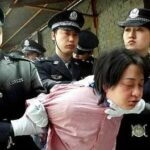 Chinese prisoner taken for exectution