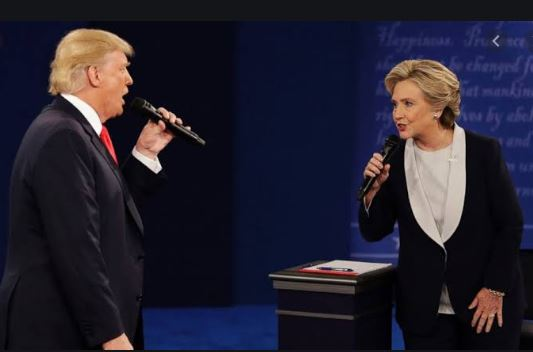 Donald Trump Hillary Clinton debate