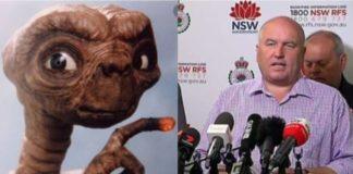 David Elliot with ET
