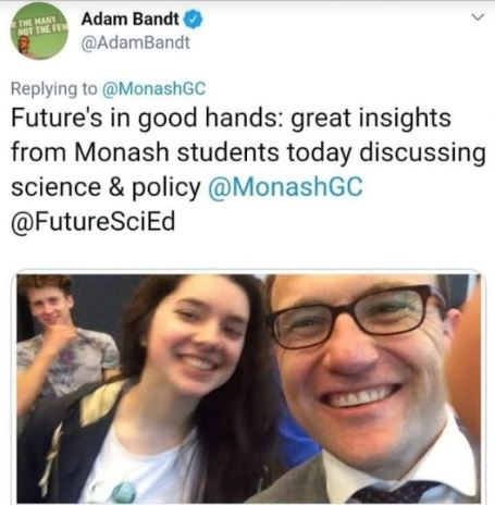 Adam Bandt Climate protests