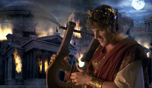 Nero fiddled while Rome burned