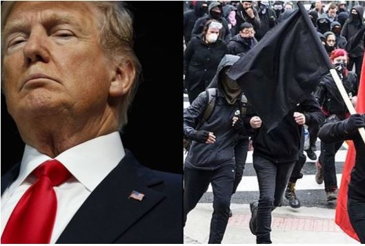 Antifa and Black Lives Matter want to bring down Trump in impeachment