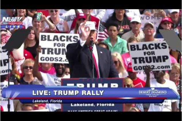 Trump at rally before impeachment
