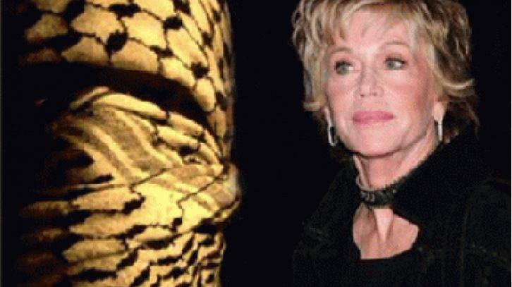 Jane Fonda hating valentines day