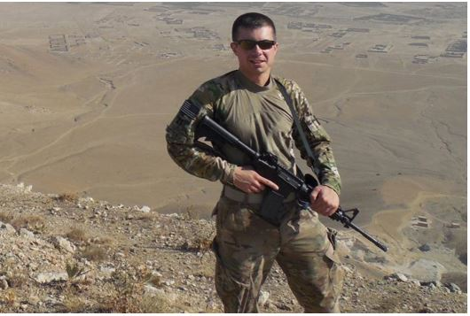 Pete Buttigieg in Afghanistan for Democrat President