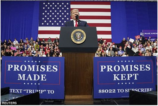 Trump kept his promises banner