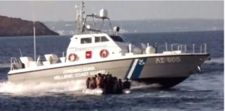 Greek coastguard shoots migrants