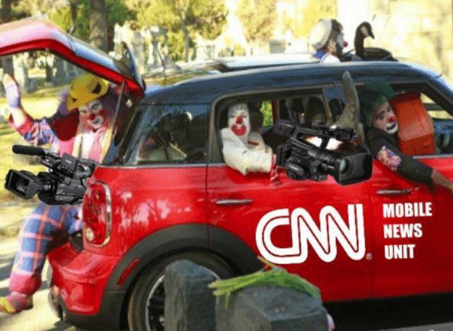 CNN Clowns in a car