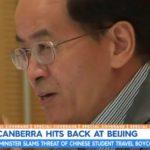 Chinese Ambassador threatens boycott australia