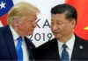 Trump with Xi