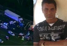 Melbourne truck crash