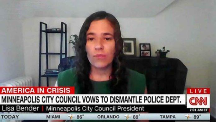 Lisa Bender defunding the police