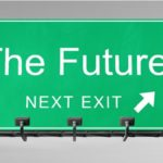 Welcome to the future sign