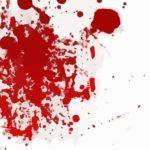 Blood splattered from Christians