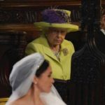 Queen stares at Megan Markle