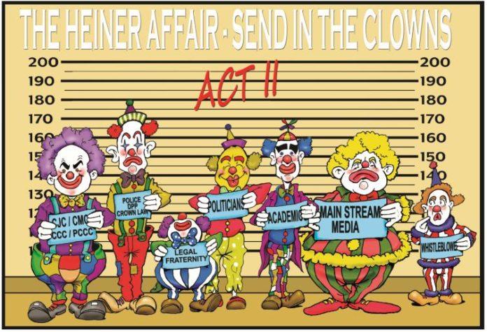 Clowns Heiner affair