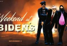 Weekend at Biden's cartoon
