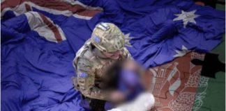 Australian Soldier killing a child