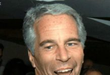 Jeffrey Epstein lauging